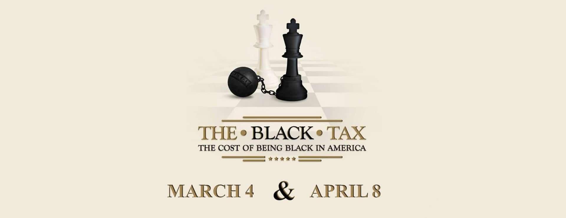 Slide for Black Tax Event
